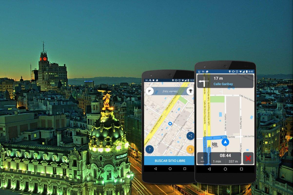 Parkifast - Aparca a la primera por las calles de Madrid en un solo click