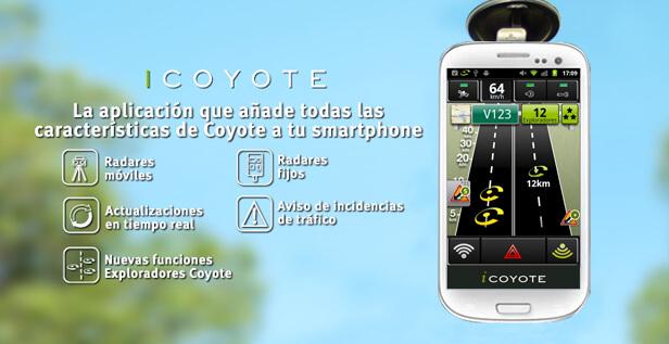 icoyote app detector de radares fijos y moviles