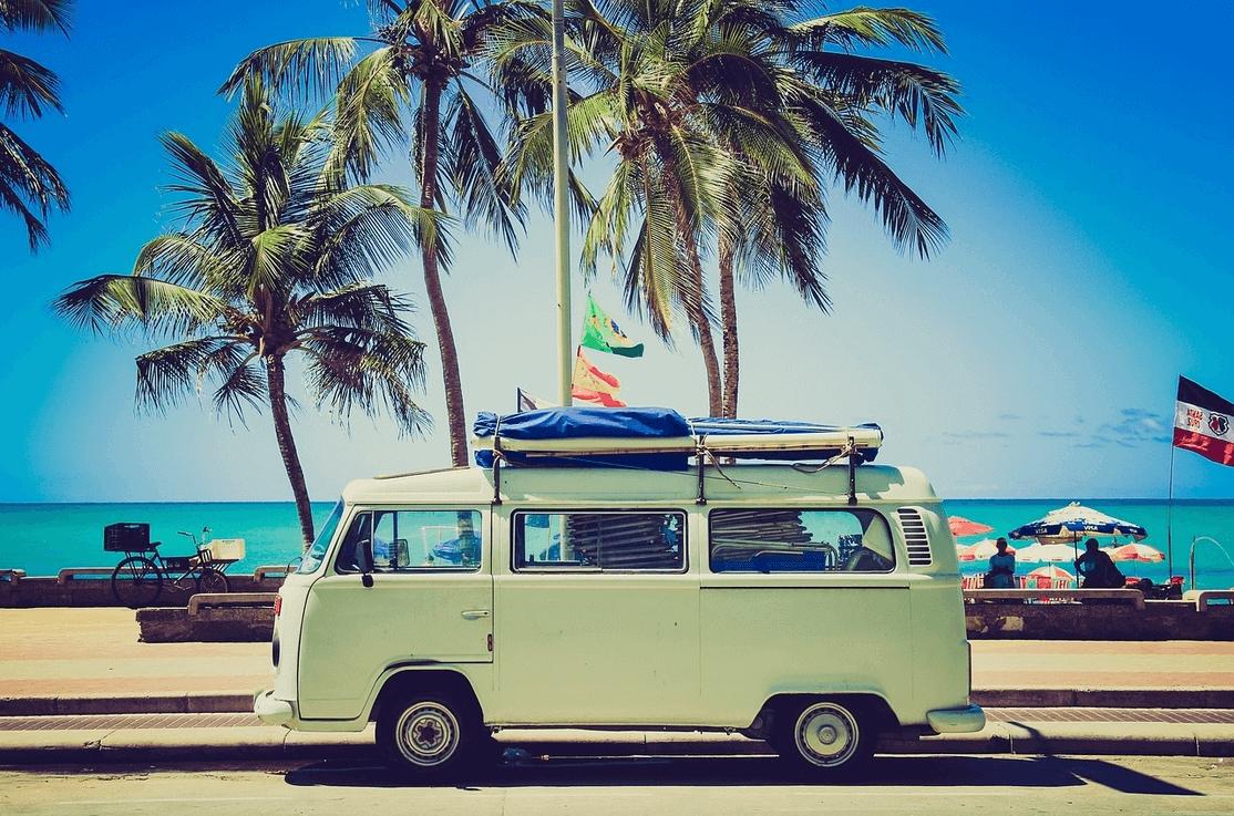 Caravana para viajar en coche