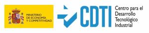 Logotipo del CDTI (Centro para el desarrollo tecnológico e industrial)